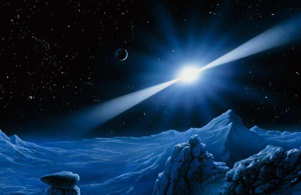 天文学家第一次确定了,单个强大的宇宙无线电信号的来源位置
