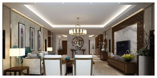 新中式雅居,全屋实木家具,20万的效果值了