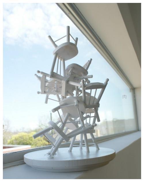 教你用可爱的玩具椅子DIY制作漂亮的工艺品装饰树