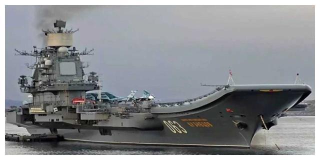 购买门式起重机,俄中两国共同对其进行改造,唯一航母亮相