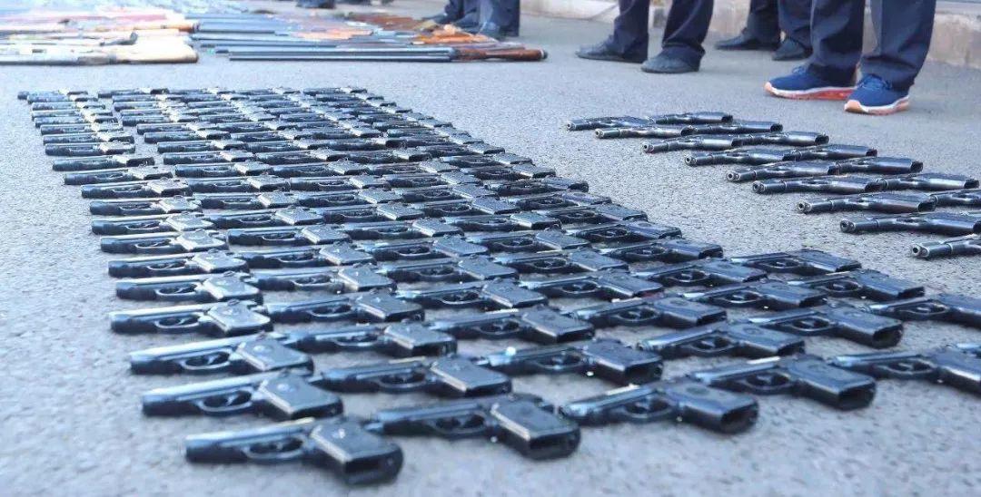 2473支枪,2722把管制刀具!山西警方10地同时行动!