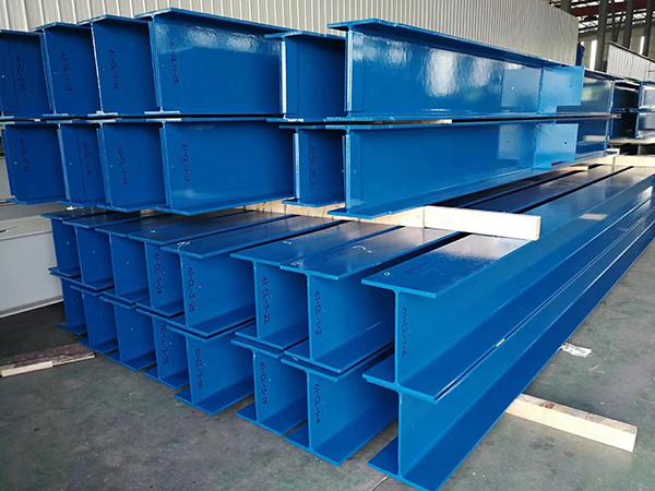 钢结构:工字钢/钢梁喷码应用 EBS手持喷码机推荐