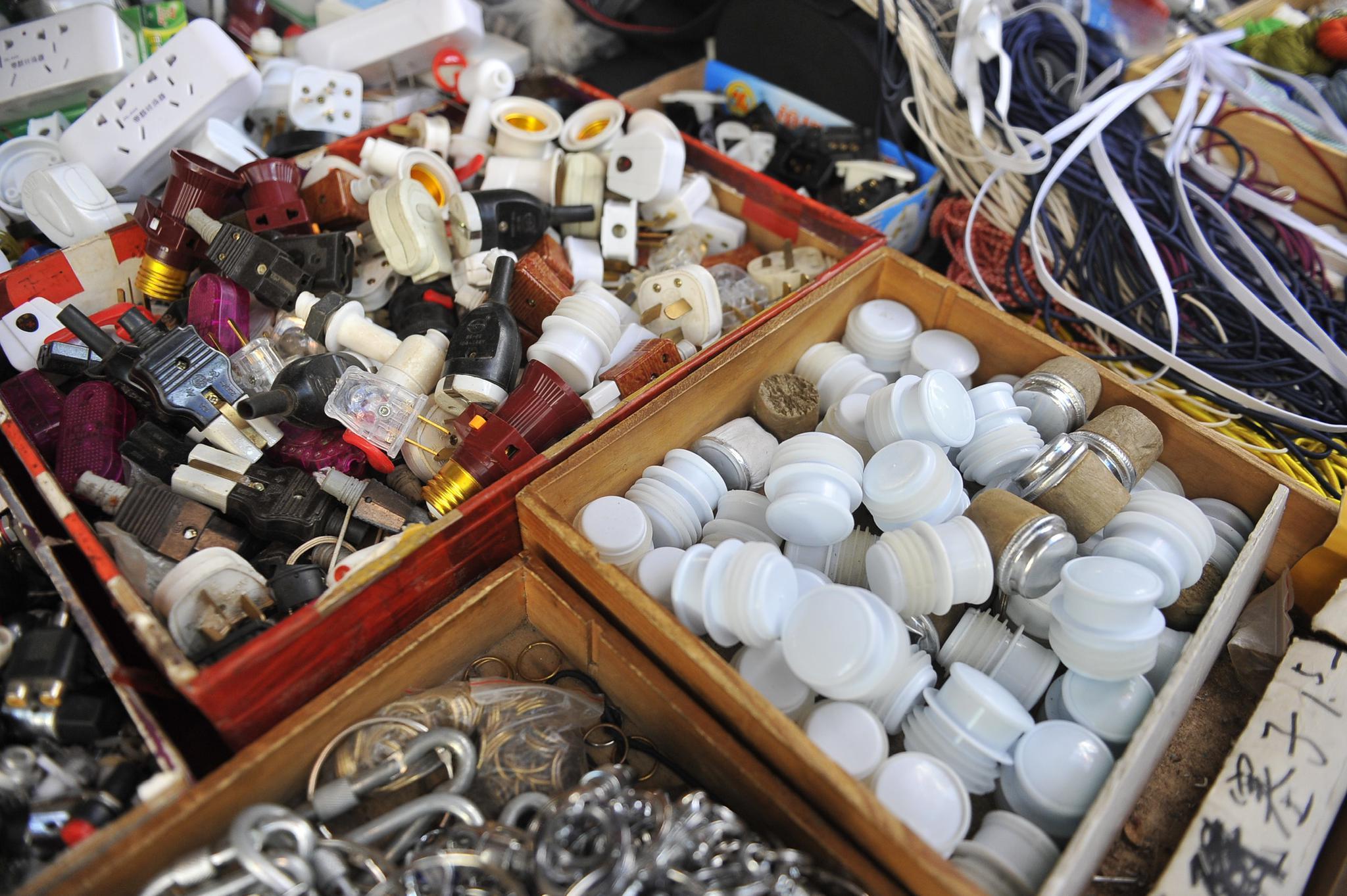 大眼针瓶塞箱包扣,这些小物件你一定很多都没见过