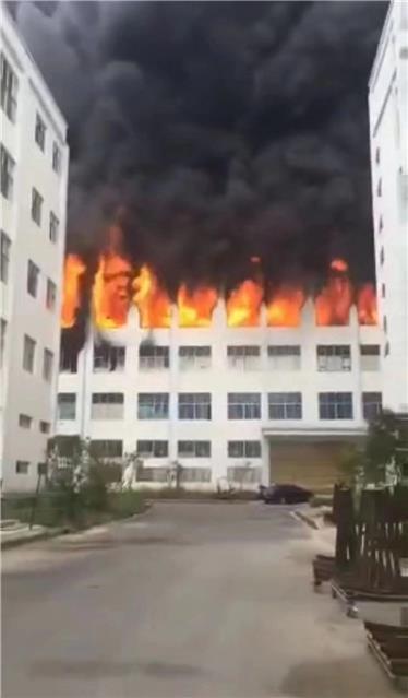 贵州一电器厂突发大火,致一死四重伤