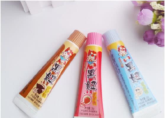 包装很有趣的几种零食,牙膏直接吃,第4种女生想吃不好意思买