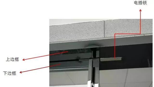弱电工程门禁电插锁安装教程