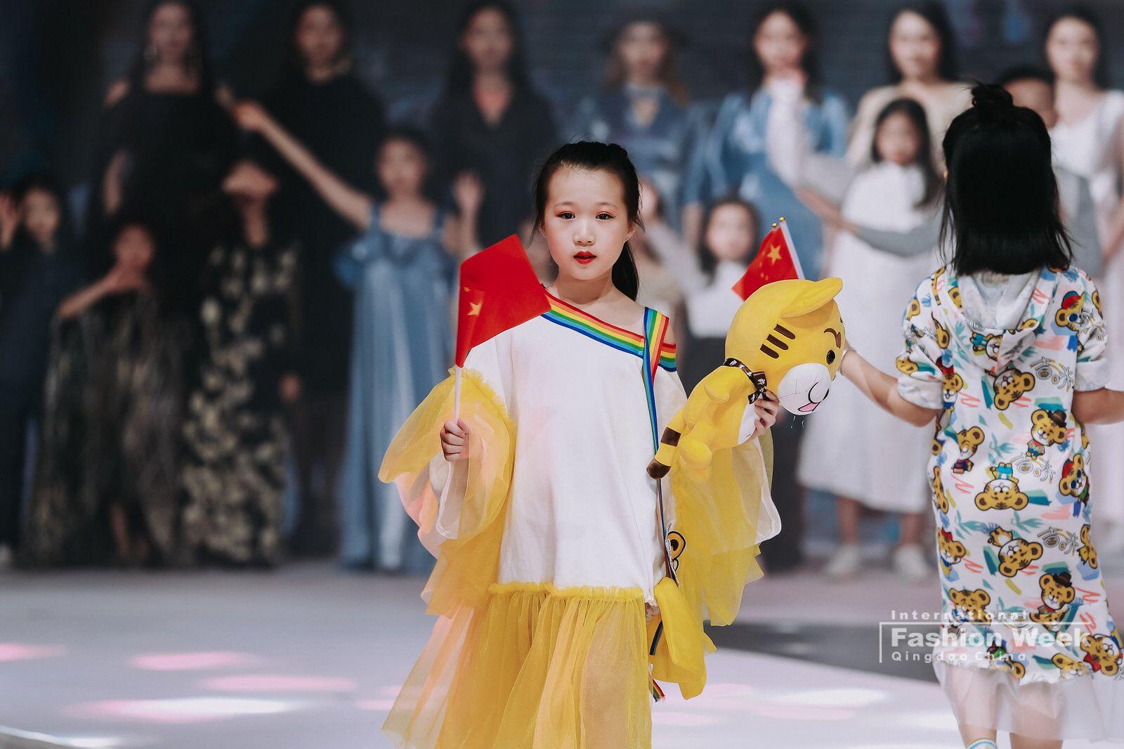 青岛国际时装周即墨区分会场开幕,即墨首创童装OSO模式