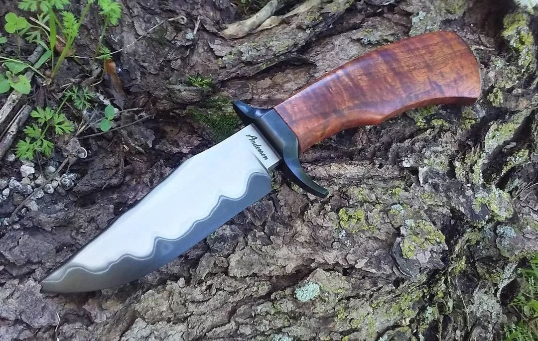 美国的狂野刀具,名匠karl B.Andersen作品赏析