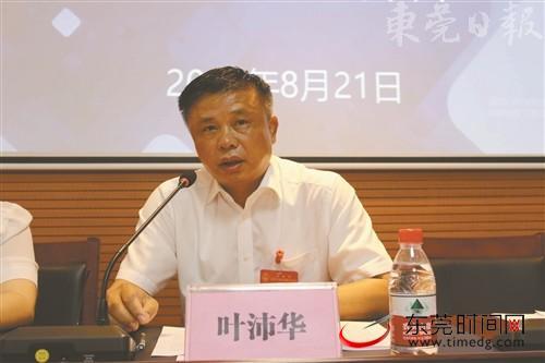 【代表风采】叶沛华:为大朗毛织建言献策 规划发展新路子