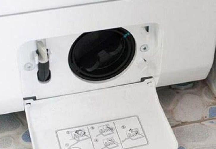 """洗衣机藏着一个""""隐形开关"""",一打开,脏水哗哗流,洗衣服更干净"""