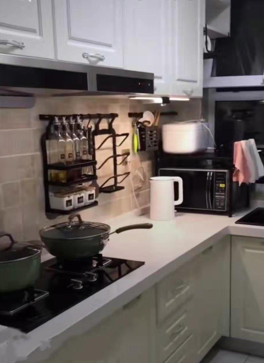 在黄岛装修厨房,别把墙面布置的太满,给五金件留个地