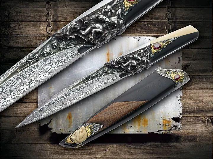 来自捷克的国宝级刀匠,Arpad Bojtos刀具赏析