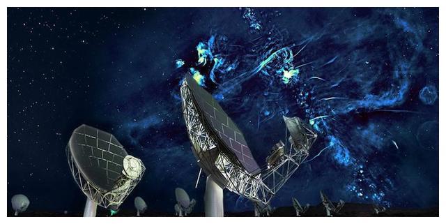 跨越上千光年!银河系中心延伸出一对神秘无线电气泡