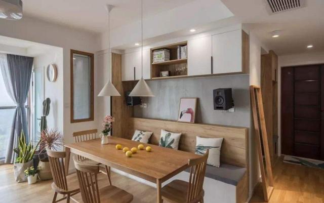 餐厅别只知道摆餐桌椅,如今流行3种设计方案,时尚更宽敞