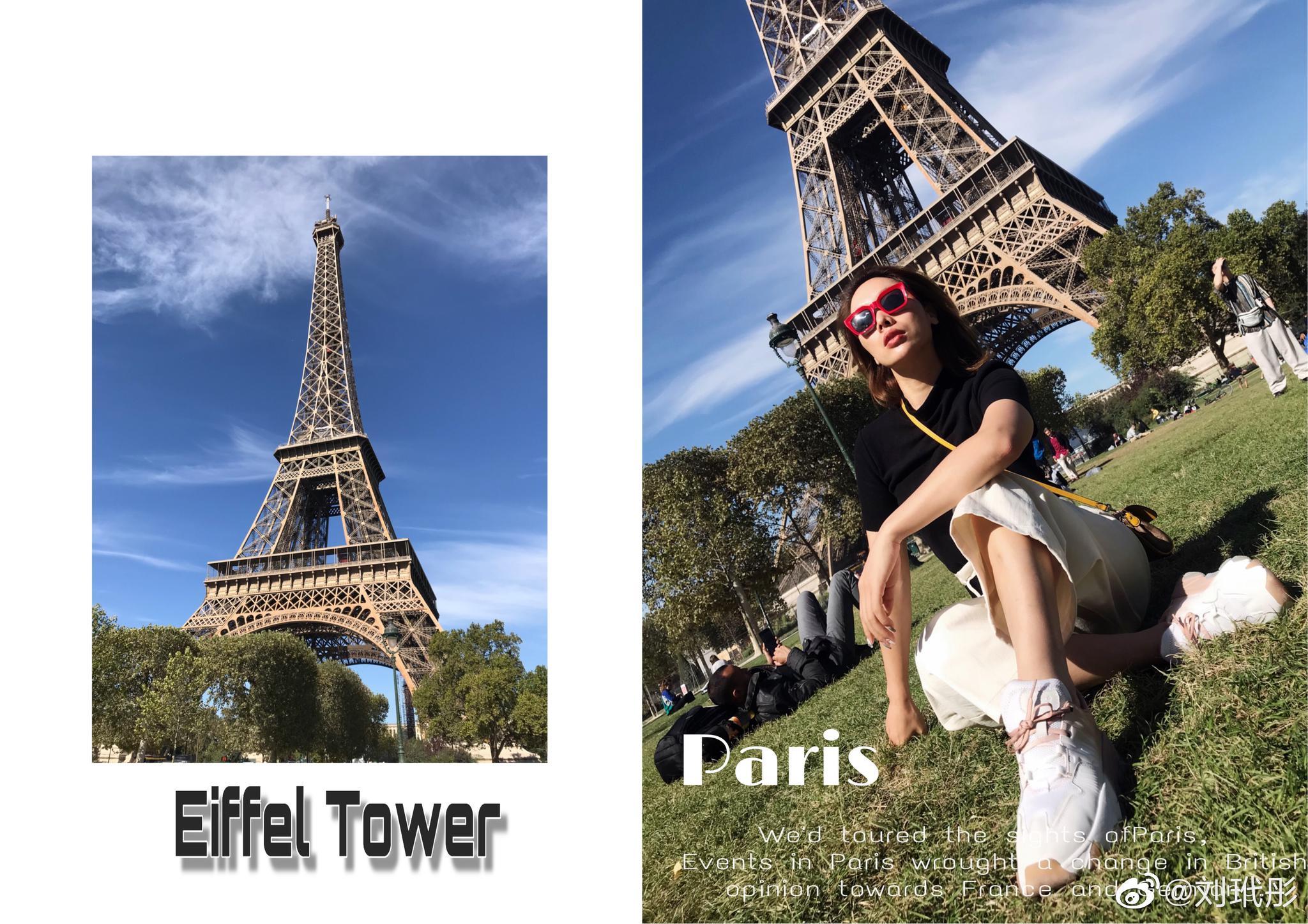 ?打卡埃菲尔铁塔~卢浮宫 难得今天不工作 可以给自己放一天假 逛