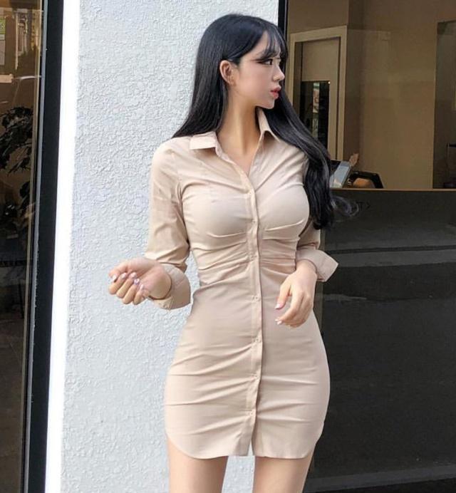 衬衫连衣裙,让你散发中性气质同时保有女人味