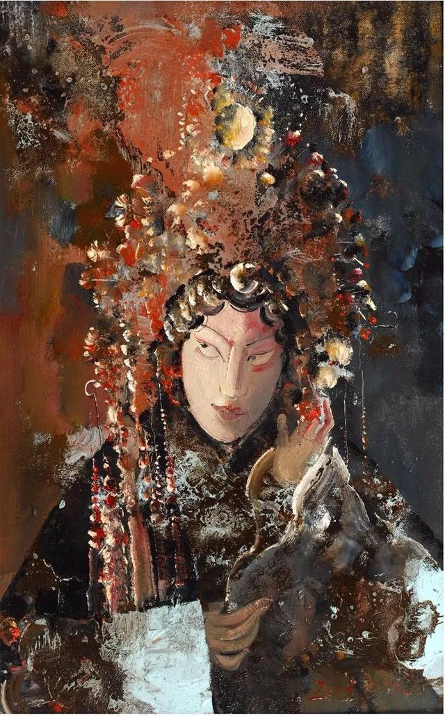 彭小杭:二十载用油画绘戏剧之魅传文化之魂