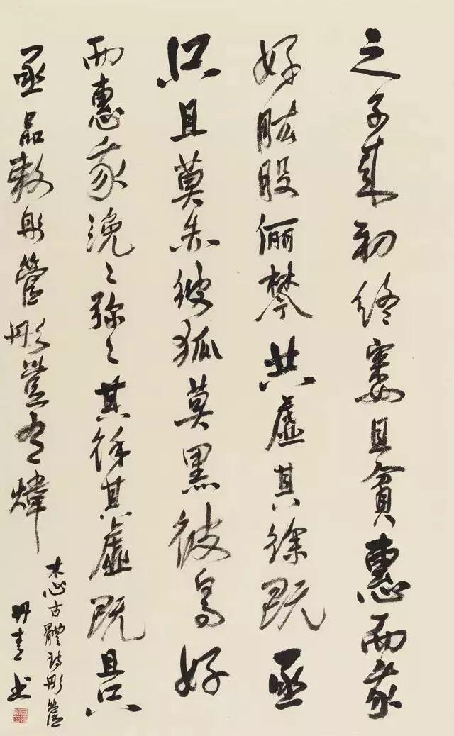 """用油画将中国书法""""画""""出来,到底算不算艺术?"""