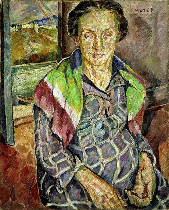 法国艺术家Maria Mela Muter人物油画作品欣赏