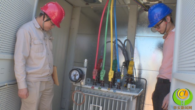华安龙浦大桥变压器通过验收 于今天正式通电