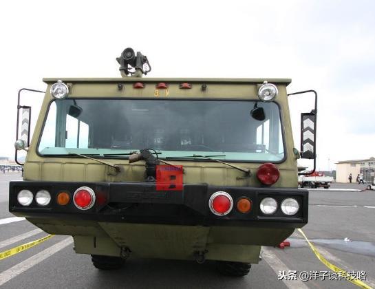 """售价高达1000多万的""""最牛""""消防车,被称为""""美洲豹"""",性能强悍"""