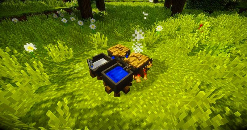 """我的世界:""""茶风""""MOD,拥有全新茶叶体系,为玩家提供新效益"""