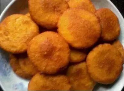 南瓜饼最简单的做法,外酥里嫩,营养还无添加剂,干净又卫生!