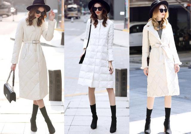 冬季欧美范羽绒服真时尚,温暖显瘦,让你穿出高贵气质和高挑身材