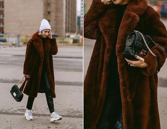 比羽绒服显瘦,比大衣时髦,今冬最火外套谁穿都好看!
