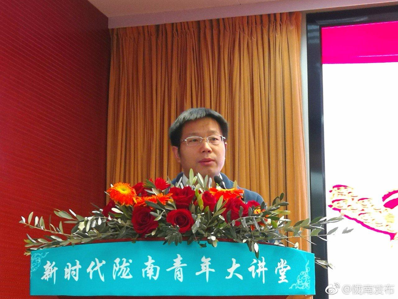 兰州大学资源环境学院教授,甘肃省欧美同学会常务理事聂军胜说