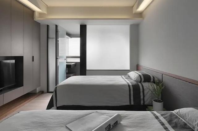 卧室里的卫浴如果这样设计 那我只能鼓鼓掌了