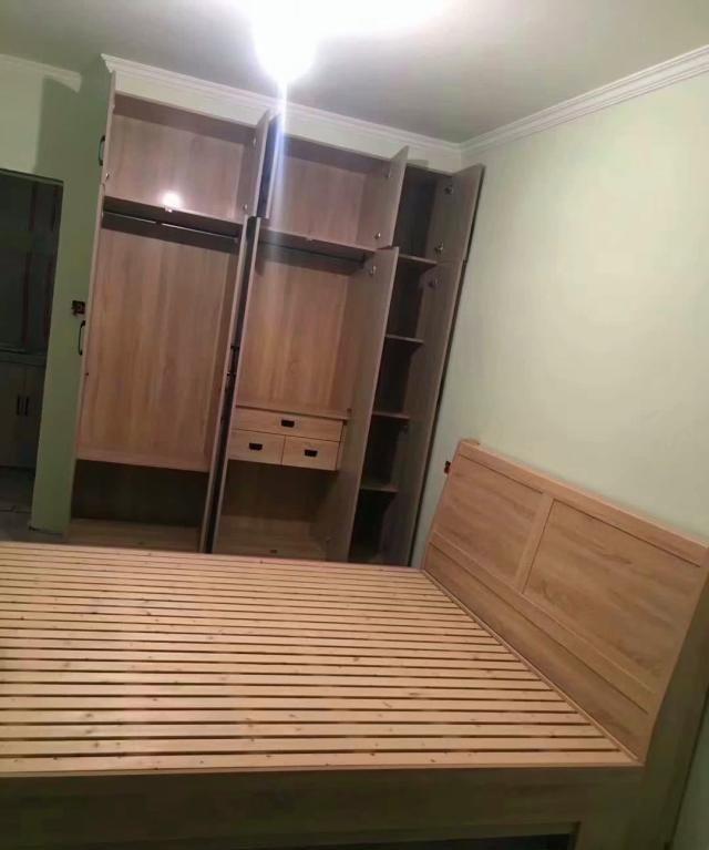 小户型装修油漆完美收工,全屋家具现场打造