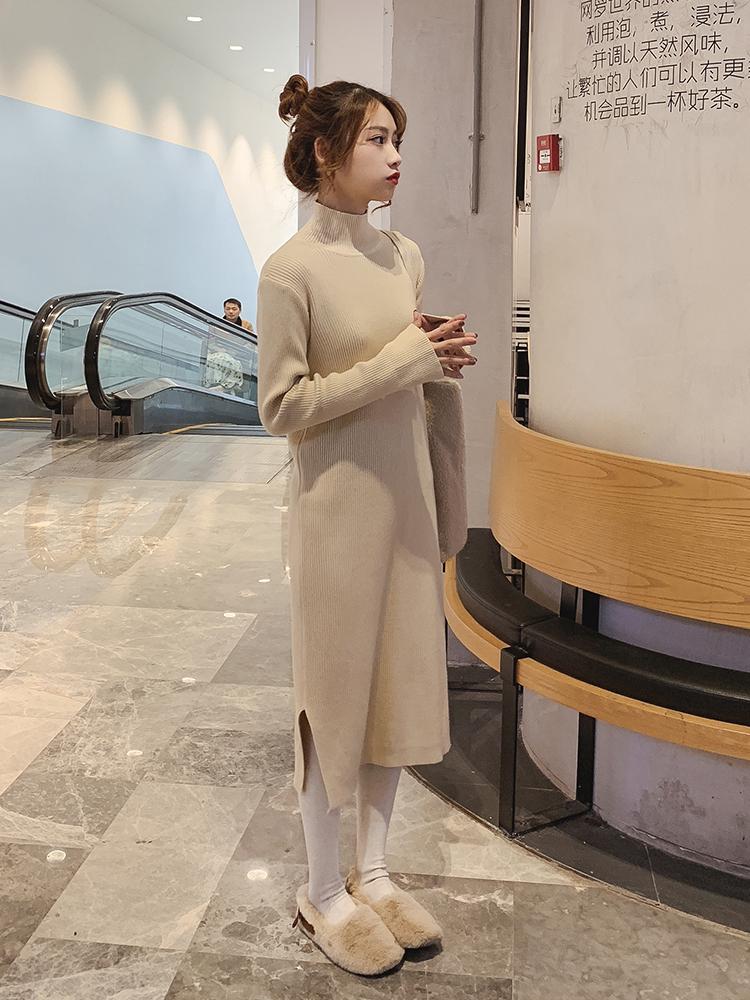 优雅显瘦又百搭的针织连衣裙,帮你轻松穿出好身材哦!