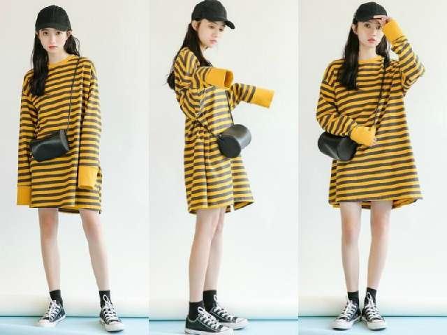 早秋很流行的5款针织连衣裙,不管谁穿都很美!