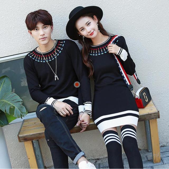 秋冬实穿的情侣针织衫合集,自信洒脱穿出自己的风格!