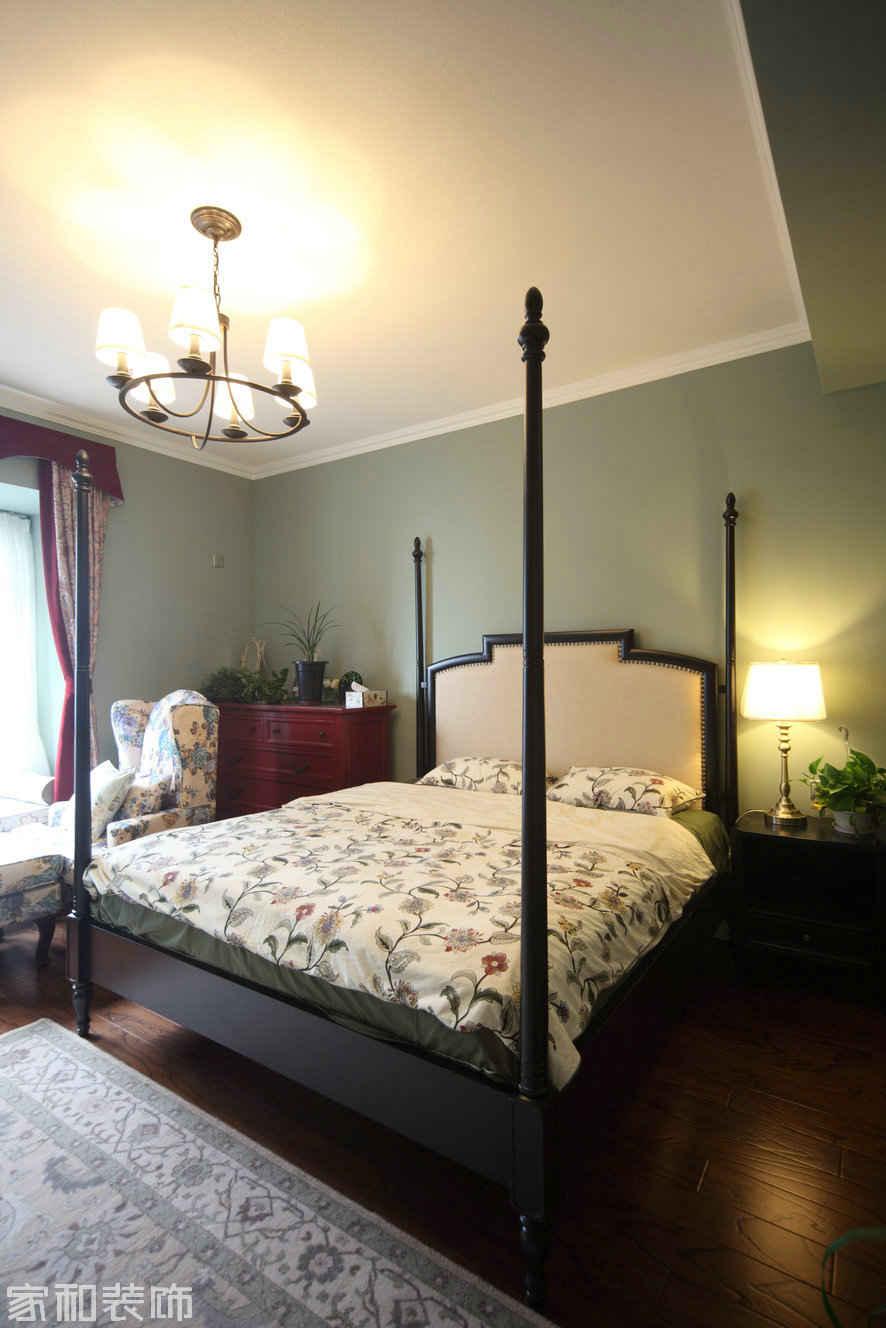 二套房装修,摈弃了繁琐的吊顶,卧室全部勾石膏线,更?.