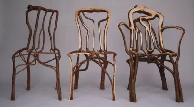"""英国小哥""""种""""出桌椅售价11万,富豪:喜欢独一无二的感觉"""