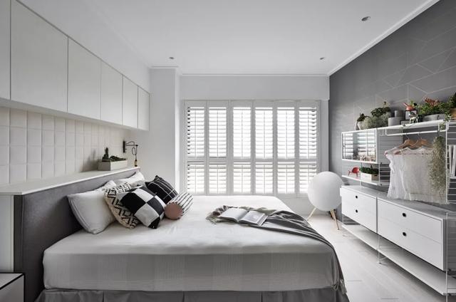 98㎡北欧风家居,清新自然的住宅空间