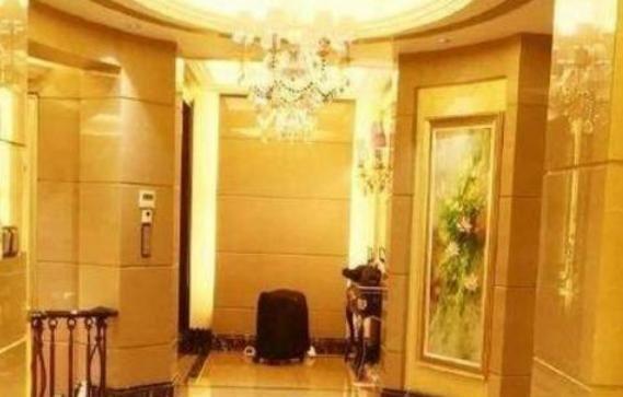 晒晒蓝燕的豪宅:家里铺满了高档石材,装修时尚又霸气