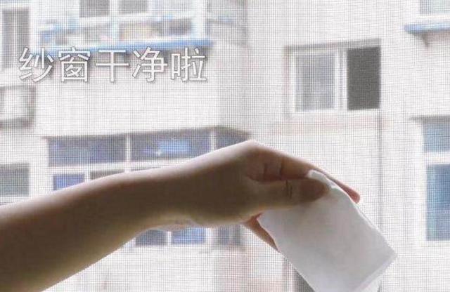 头一次见用这个方法清洗纱窗,简单又干净,全屋大扫除省力多了