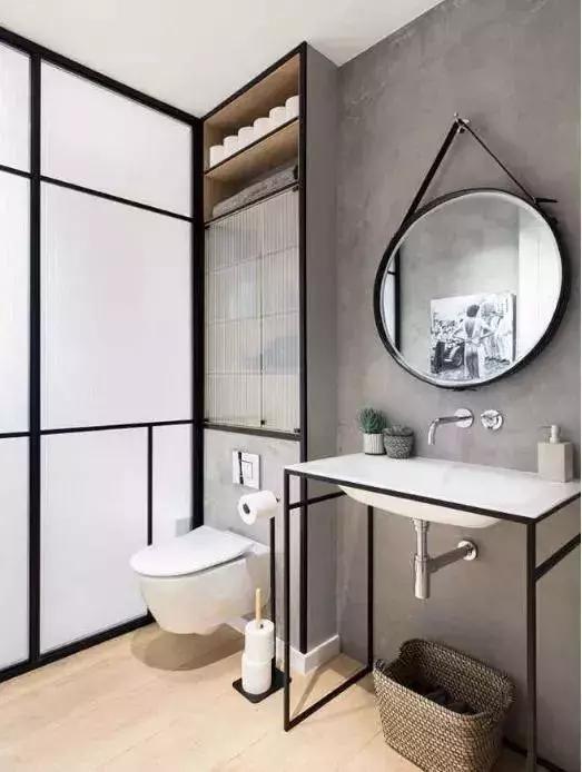 卫浴间的布局设计,注意把握四个细节,打造舒适卫浴