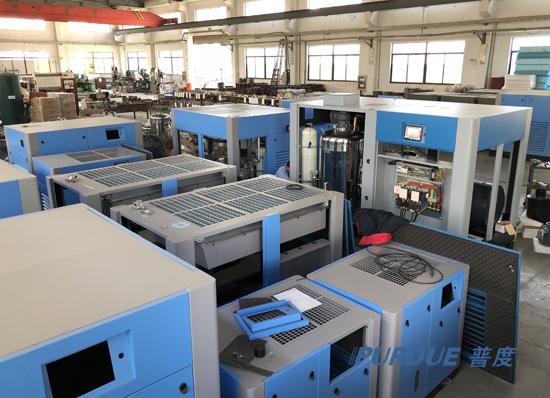 制造业绿色升级,上海普度节能空压机与时俱进