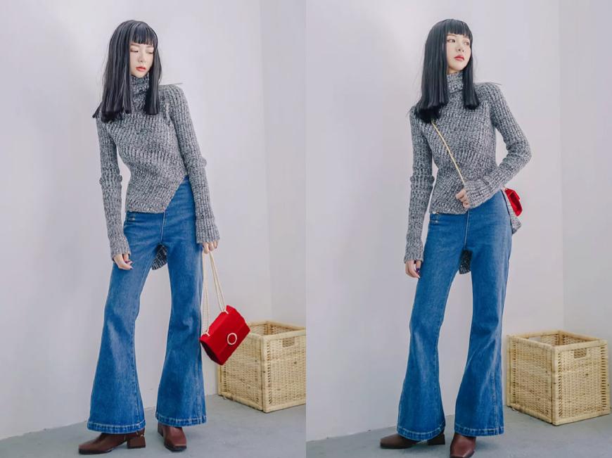 针织衫怎么搭配好看?学会这5个穿搭法,怎么穿都比别人好看!