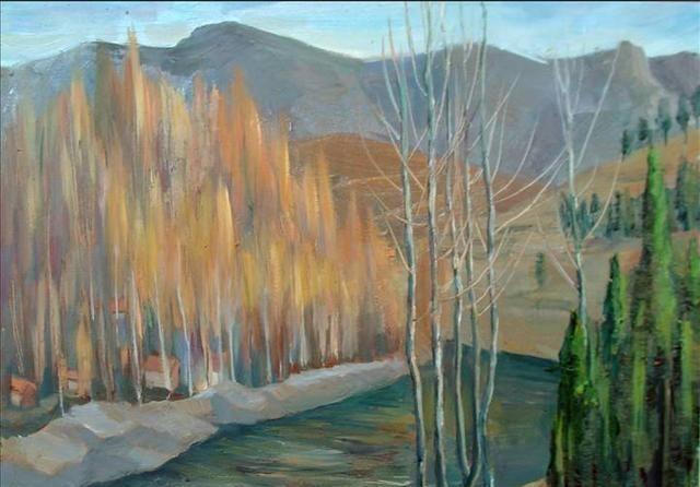 油画家宋晓的12幅油画,成就未来的艺术大家,真未可知!