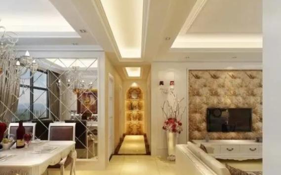 走廊吊顶如何设计?看到这些装修案例,瞬间后悔我家装早了