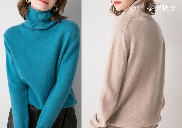"""深秋:备几件质感""""羊绒衫"""":弹力、百搭、尽显女人味"""