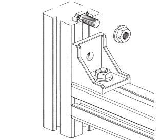 工业铝型材的相关配件及应用之角件