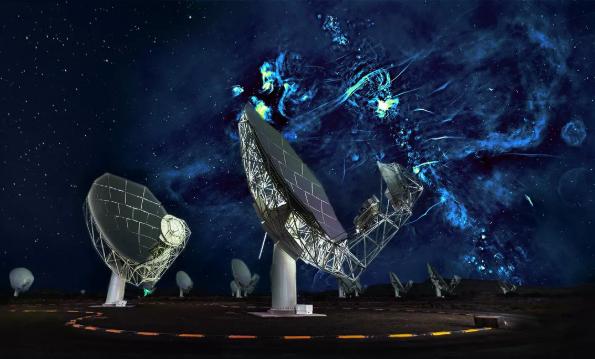 """科学家在银河系中心发现两个能发射无线电波的巨大""""气泡"""""""