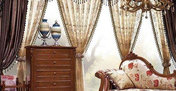 实木家具与窗帘搭配方案,轻松营造完美家居空间!!