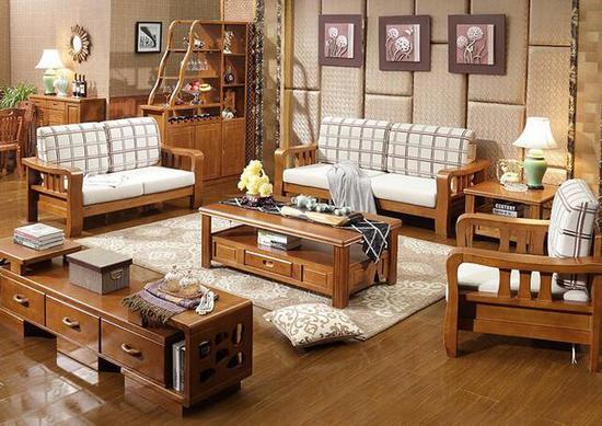 南昌月星家居—实木家具颜色不一样未必是真假掺卖